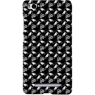 ifasho Animated Pattern birds and flowers Back Case Cover for Redmi Mi4i