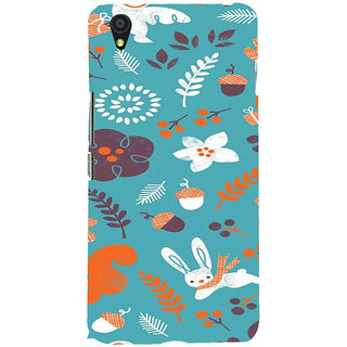 ifasho Animated Pattern Animal AND creature Back Case Cover for One Plus X