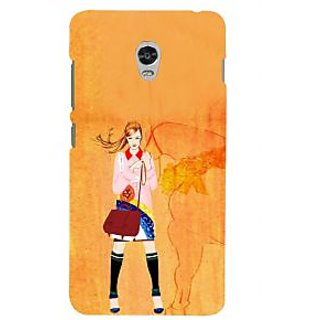ifasho Girl with Horse Back Case Cover for Lenovo Vibe P1