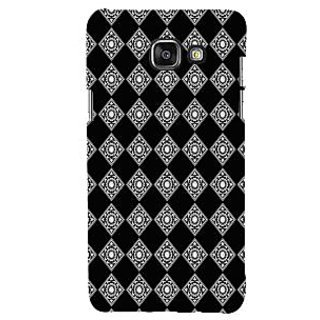 ifasho Modern Theme of royal design in black and white pattern Back Case Cover for Samsung Galaxy A5 A510 (2016 Edition)