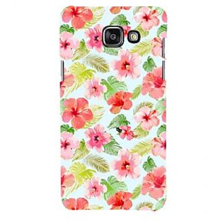 ifasho Animated Pattern mander flower with leaves Back Case Cover for Samsung Galaxy A5 A510 (2016 Edition)