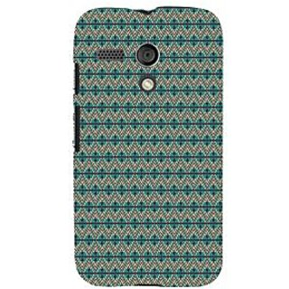 ifasho Animated Pattern colrful 3Dibal design Back Case Cover for Moto G