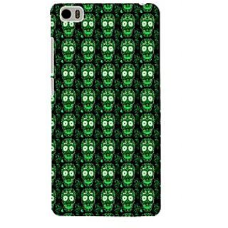 ifasho Modern  Design animated skeleton Pattern Back Case Cover for Redmi Mi5