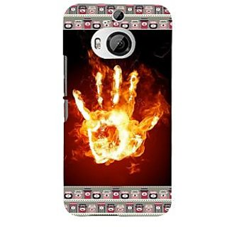 ifasho Modern Art Design  dont touch my phone with palm Back Case Cover for HTC ONE M9 Plus