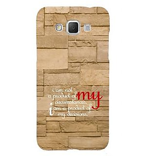 ifasho Kowledge quotes on stone pattern  Back Case Cover for Samsung Galaxy Grand Max