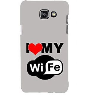 ifasho I love my wife quotes Back Case Cover for Samsung Galaxy A5 A510 (2016 Edition)