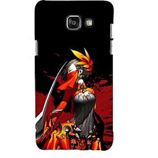 ifasho Colorful Girl animated Back Case Cover for Samsung Galaxy A5 A510 (2016 Edition)