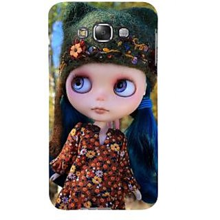 ifasho Cute Girl Back Case Cover for Samsung Galaxy E7