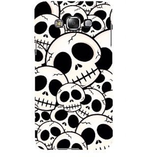 ifasho Modern  Design skeleton Pattern Back Case Cover for Samsung Galaxy E7