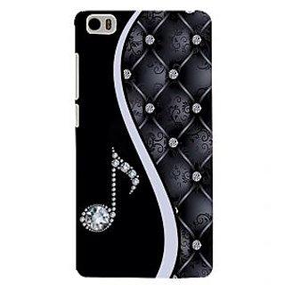 ifasho Modern Art Design Pattern Music symbol Back Case Cover for Redmi Mi5