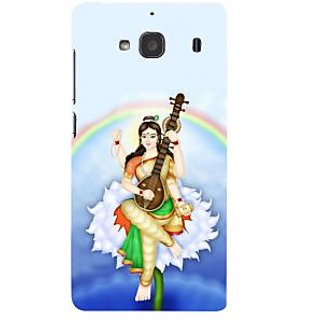 ifasho Goddess Saraswati  Back Case Cover for Redmi 2S