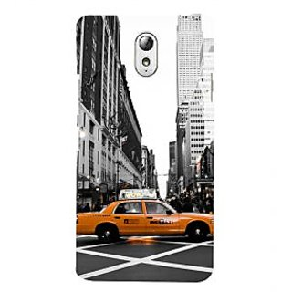ifasho Car In newyork City taxi Back Case Cover for Lenovo Vibe P1M
