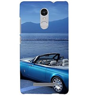 ifasho Long Car in beach Back Case Cover for REDMI Note 3