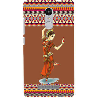ifasho Odishi dance Back Case Cover for REDMI Note 3