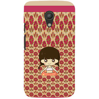 ifasho Cute Girl animated Back Case Cover for Moto G2