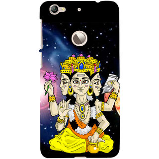 ifasho Lord Brahma Back Case Cover for LeTV 1S