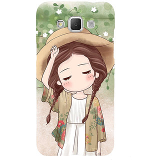 ifasho Lovely Girl with Hat Back Case Cover for Samsung Galaxy Grand Max