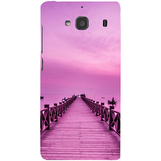 ifasho walking wooden bridge on a sea Back Case Cover for Redmi 2S