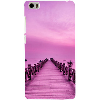 ifasho walking wooden bridge on a sea Back Case Cover for Redmi Mi5