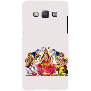 ifasho Laxmi Saraswati and Ganesh Back Case Cover for Samsung Galaxy A7