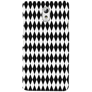 ifasho Animated Pattern of Chevron Arrows royal style Back Case Cover for Lenovo Vibe P1M