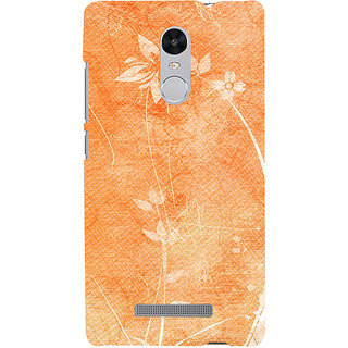 ifasho Animated Pattern colrful 3Daditional design cloth pattern Back Case Cover for REDMI Note 3