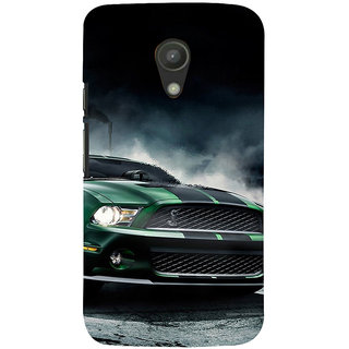 ifasho Royal  Running Car in wind Back Case Cover for Moto G2
