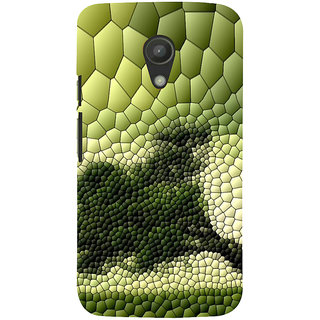 ifasho Modern  Design animated crocodile skin Back Case Cover for Moto G2