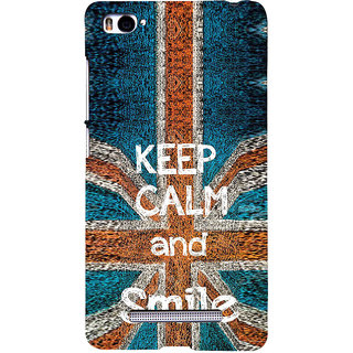 ifasho Nice Quote On Keep Calm Back Case Cover for Redmi Mi4i