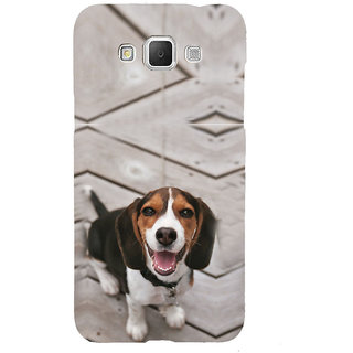 ifasho Grey Dog Back Case Cover for Samsung Galaxy Grand Max