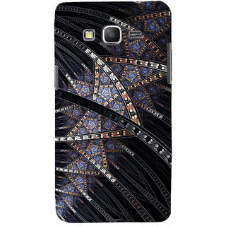 ifasho modern design in multi color pattern Back Case Cover for Samsung Galaxy Grand Prime