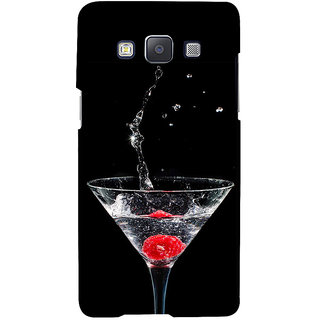 ifasho Rose in water glass with Drop of water Back Case Cover for Samsung Galaxy A7