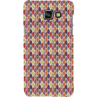 ifasho Animated Pattern colrful design leaves Back Case Cover for Samsung Galaxy A7 A710 (2016 Edition)