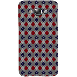 ifasho Animated Pattern design colorful in royal style Back Case Cover for Samsung Galaxy E7
