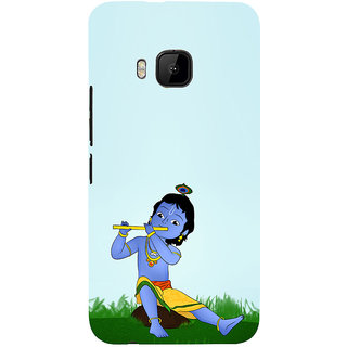 ifasho Lord Krishna with Flute Back Case Cover for HTC One M9