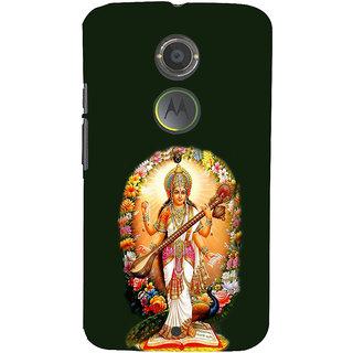 ifasho Goddess Saraswati  Back Case Cover for Motorola MOTO X2