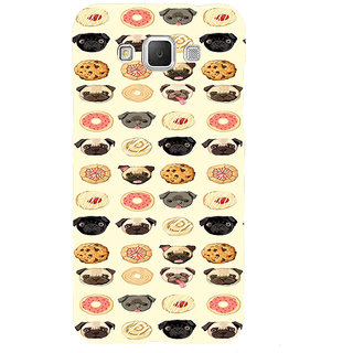 ifasho Animated Pattern dogs head and cookies Back Case Cover for Samsung Galaxy Grand Max