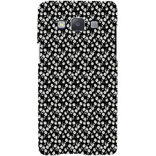 ifasho Modern Art Design animated cloth Pattern of small flower Back Case Cover for Samsung Galaxy A7