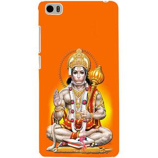 ifasho Lord Hanuman Back Case Cover for Redmi Mi5
