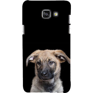 ifasho Grey Dog Back Case Cover for Samsung Galaxy A5 A510 (2016 Edition)