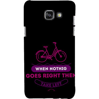 ifasho Right and Wrong Quote Back Case Cover for Samsung Galaxy A5 A510 (2016 Edition)