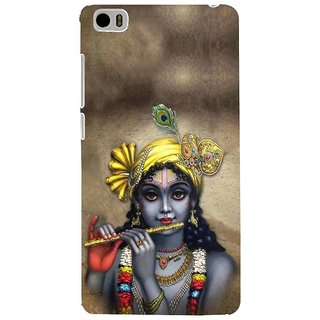 ifasho Lord Krishna with Flute Back Case Cover for Redmi Mi5