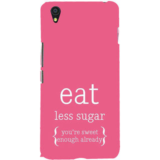ifasho Motivational Quote sweet Back Case Cover for One Plus X