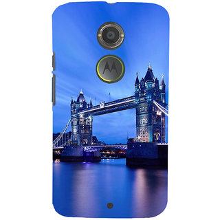 ifasho London Bridge Back Case Cover for Motorola MOTO X2