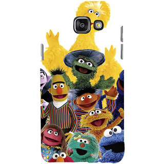ifasho Cartoon Soft face many cartoons characters Back Case Cover for Samsung Galaxy A7 A710 (2016 Edition)