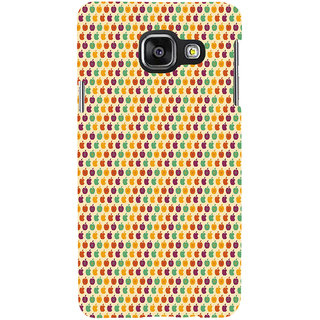 ifasho Animated Pattern design many small apple Back Case Cover for Samsung Galaxy A3 A310 (2016 Edition)