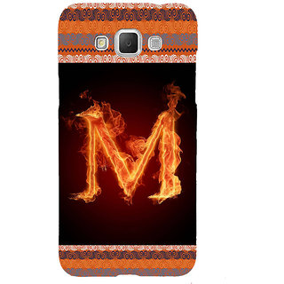 ifasho alphabet name series M Back Case Cover for Samsung Galaxy Grand Max