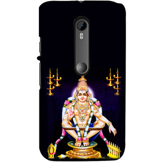 ifasho Lord Ayappa Back Case Cover for Moto G3