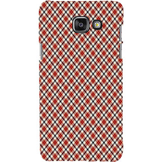 ifasho Colour Full Square Pattern Back Case Cover for Samsung Galaxy A5 A510 (2016 Edition)