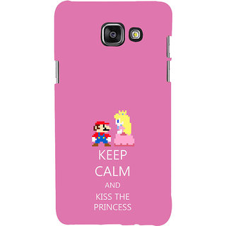 ifasho Nice Quote On Keep Calm Back Case Cover for Samsung Galaxy A7 A710 (2016 Edition)